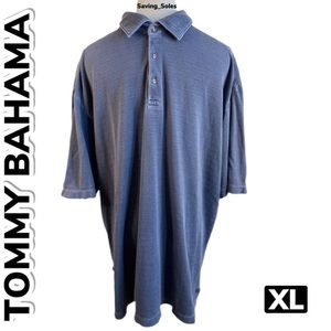 Tommy Bahama Silk Mix Polo Shirt (XL)